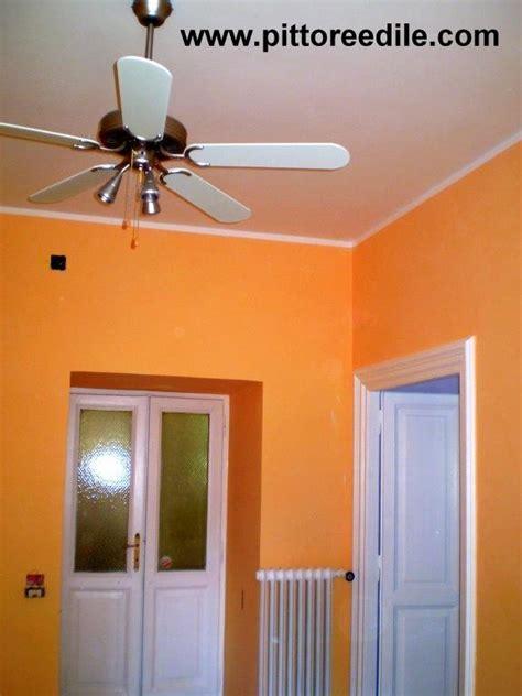 prezzo tinteggiatura interna pareti tinteggiatura lavabile arancione imbianchino roma
