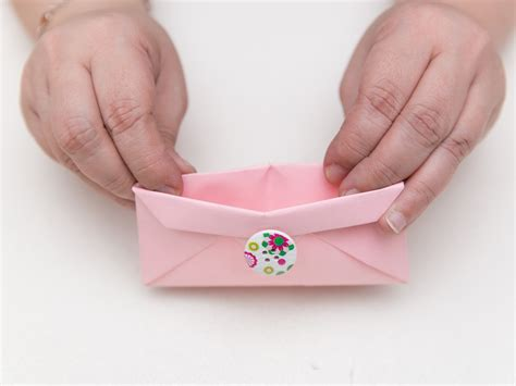 How To Make A Paper Purse Step By Step - how to make an origami wallet with pictures wikihow