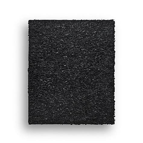 black leather rug safavieh leather shag rug collection in black bed bath beyond