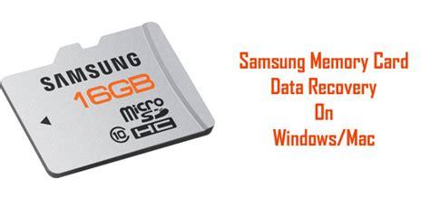 Memory Card Samsung samsung sd card data recovery on windows mac