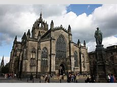Edinburgh - St Giles' Cathedral | the Mother Church of ... Giles
