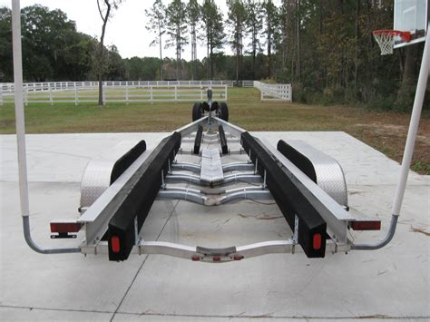 triple axle boat trailers for sale used triple axle magic tilt custom trailer 35 38ft the hull