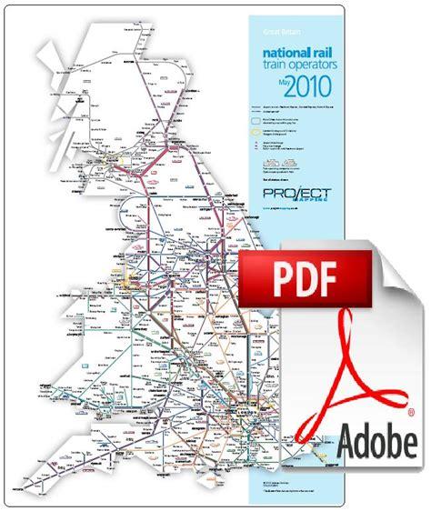 map uk rail lines rail map