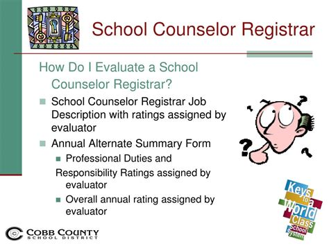 school counselor description ppt evaluating school counselors sy11 12 powerpoint