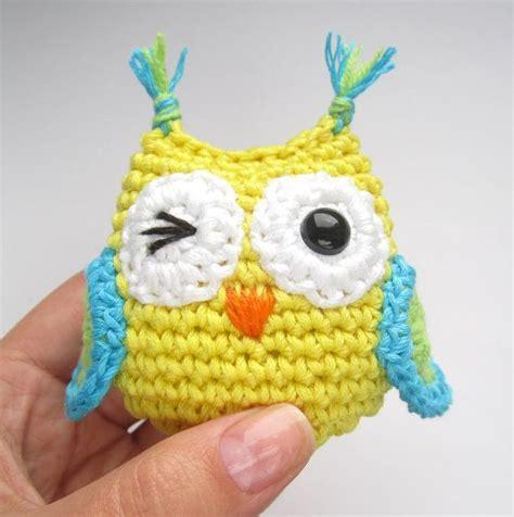 free crochet pattern owl motif small owls cute amigurumi owls via craftsy crochet