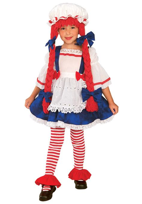 rag doll costume toddler rag doll costume child raggedy costumes
