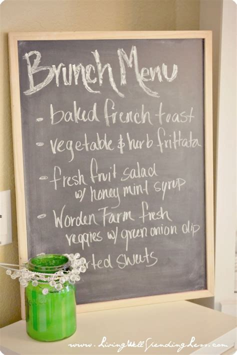 brunch menu recipes ideas images