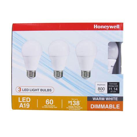 honeywell 4800 lumen led 4 dimmable ceiling light honeywell fe0101 01 a19 led light bulb 3 pack honeywell