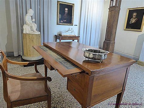 schreibtisch besonders museum antonio canova verliebt in italien