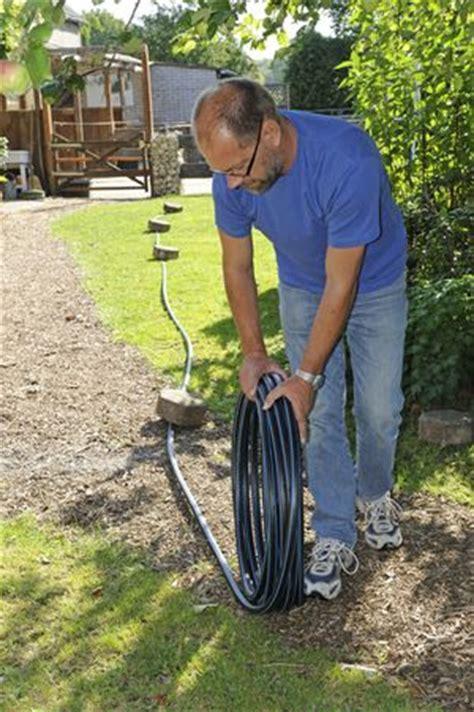 Wasserleitung Im Garten Selbst Verlegen by Wasserzapfstelle Im Garten