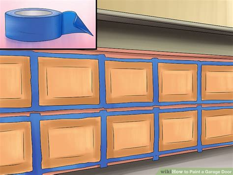What Paint To Use On Garage Door How To Paint A Garage Door 12 Steps With Pictures Wikihow