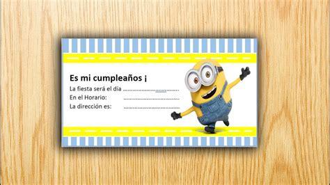 Como Imprimir Tarjetas De Invitacion En Fotos | como hacer una tarjeta de invitaci 243 n en word youtube