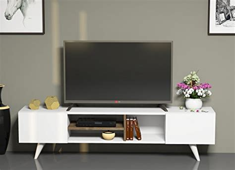 Designer Tv Board by Tv Board Lowboard Dore In Wei 223 Nussbaum Fernsehtisch