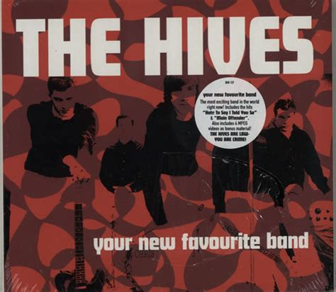 Cd The Hives Your New Favourite Band Digi Obi hives records lps vinyl and cds musicstack