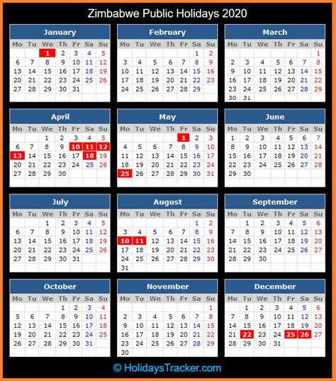 zimbabwe public holidays  holidays tracker