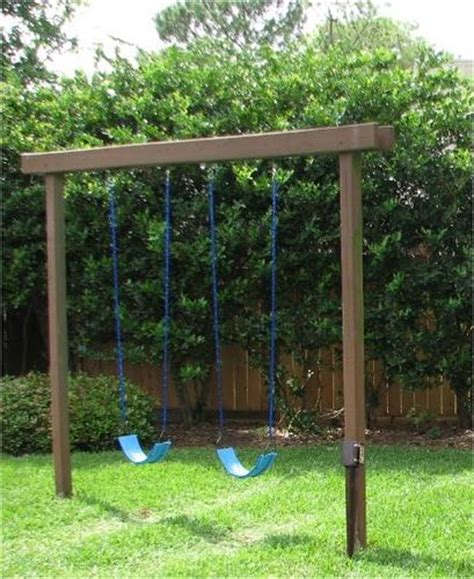 4x4 swing set plans 4x4 pressure treated for swing by chetrog lumberjocks