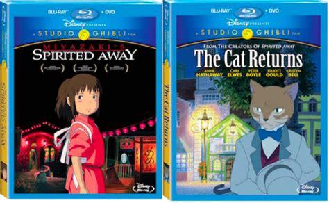 film ghibli blue ray finally on blu ray spirited away the cat returns