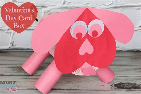 valentines card diy s day puppy card box tutorial must