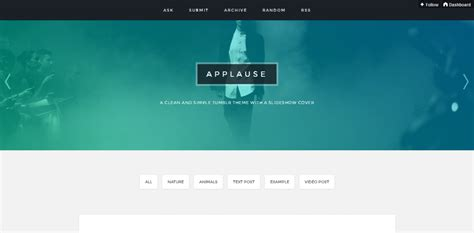 themes for tumblr simple 66 best premium and free tumblr themes weelii