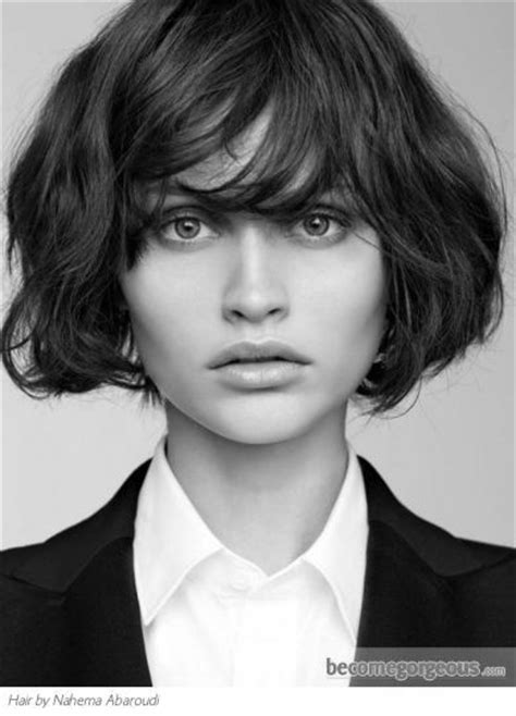 pics of body wave bobcut with bangs shorter hair the ultimate guide to short wavy hairstyles bobs