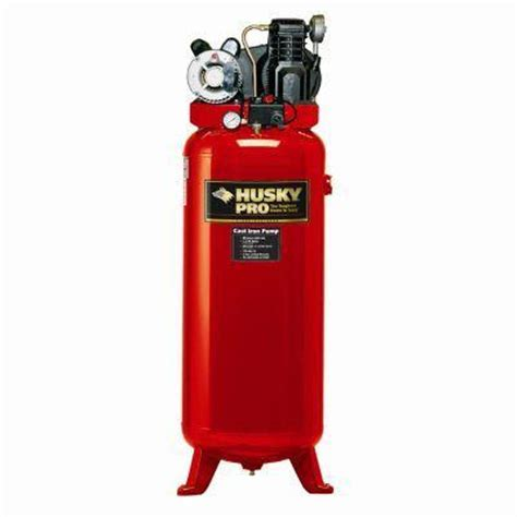 home depot husky 60 gal compressor any updated