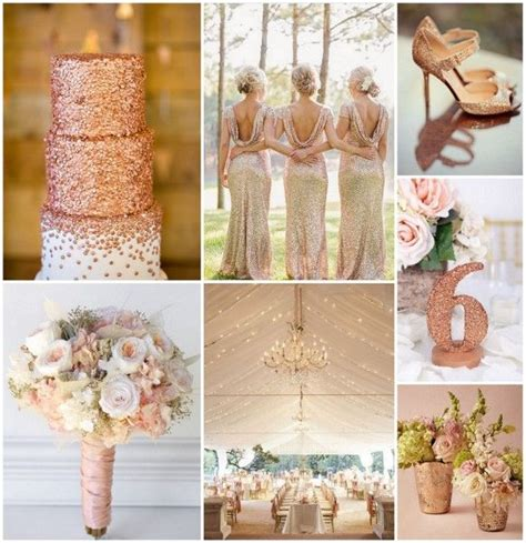 rose theme wedding ideas rose gold wedding ideas from hotref com rosegoldwedding