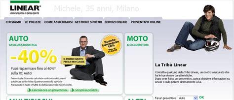 unipol on line assicurazioni on line linear