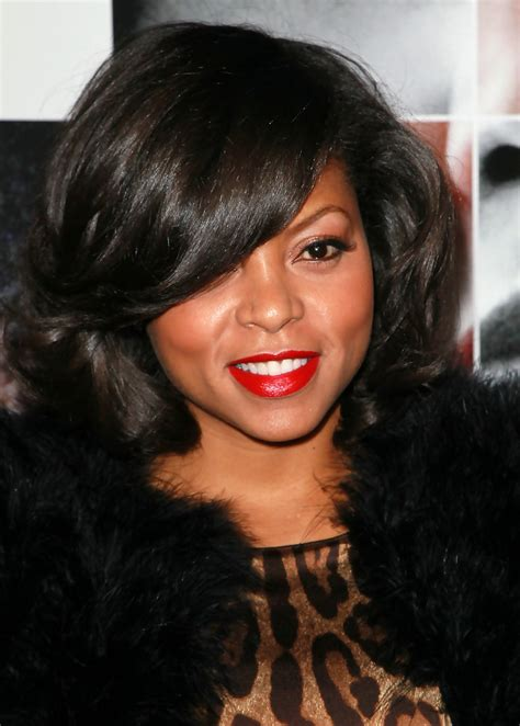 taraji p henson long wavy hairstyle pictures to pin on pinterest taraji p henson in premiere of quot frankie and alice