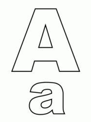 lettere in corsivo da stare disegni di quot lettere e numeri quot da colorare