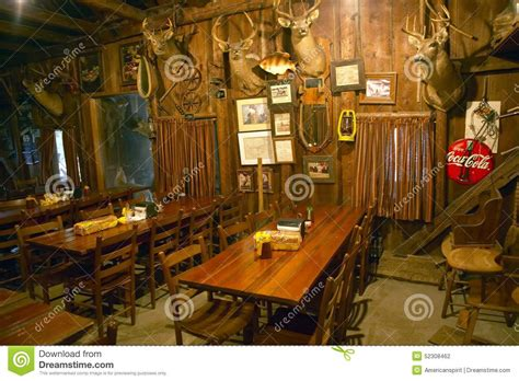 interior d cor interior of rustic restaurant with d cor