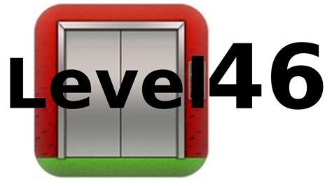 100 floors can you escape level 46 100 floors level 46 walkthrough