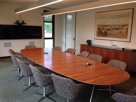 room or room grammar ivanhoe grammar school new conferencing boardroom installation dib australia