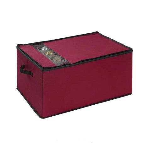 ornament box storage neu home ornament organizer storage box 54341w 1 the