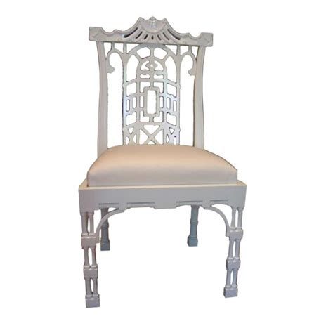 Armchair Antiques Reproduction Chinese Chippendale Dining Chair At 1stdibs