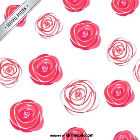 vector rose tutorial watercolor roses pattern vector free download