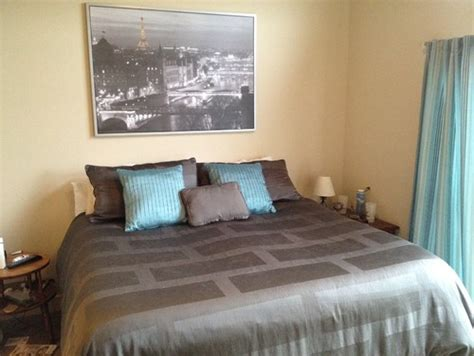 slate gray bedroom what would be a color for an accent wall the