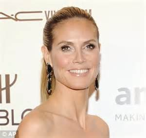 allure may 2012 heidi klum exavt hair color formula heidi klum looks unrecognisable as young brunette in first
