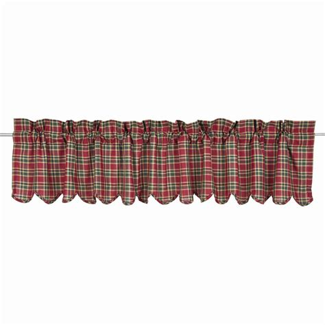 Plaid Valance graham plaid valance www bestwindowtreatments