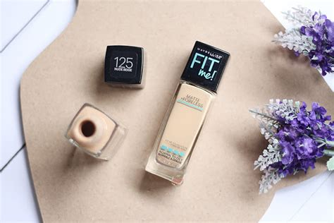 Bedak Maybelline Untuk Kulit Kering Sasyachi Diary Maybelline Fit Me Foundation Review