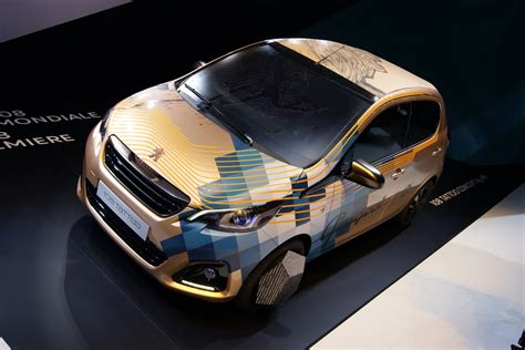 peugeot lion new peugeot 108 gets a lion tattoo bad car very bad car