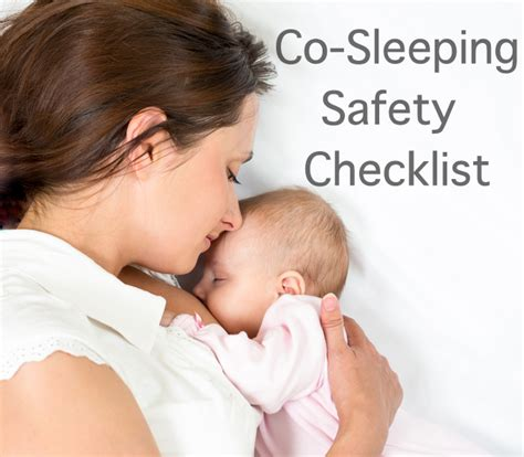 How Can A Baby Sleep In A Co Sleeper the co sleeping safety checklist