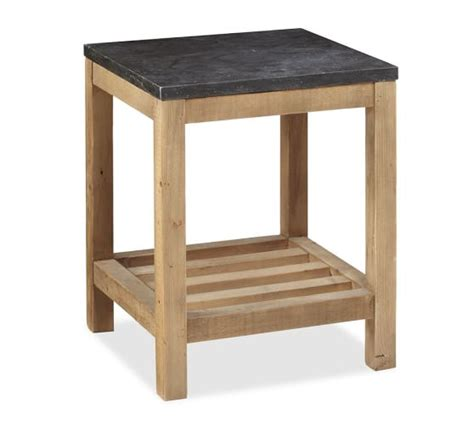 Pottery Barn Connor Coffee Table Connor Side Table Limestone Pottery Barn