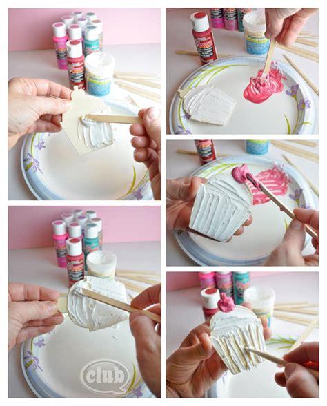 diy craft idea valentines day gift box craft idea with decoart paints