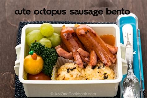 the just bento cookbook 2 make ahead easy healthy lunches to go books how to make octopus sausage just one cookbook