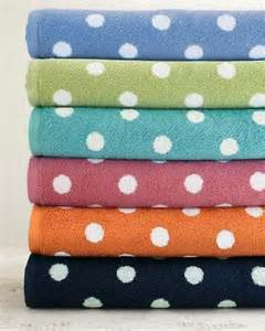 polka dot bath towels towels i polka dots for the home