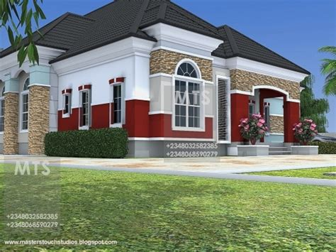 ghanian client 5 bedroom bungalow residential homes and best residential homes and public designs mr chukwudi 5