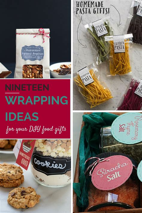 gifts for food 19 wrapping ideas for your food gifts savvy eats