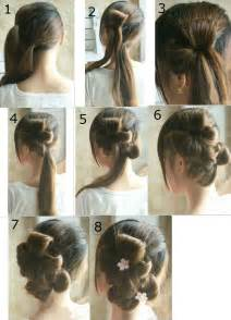 hairstyles step by step flower tie updo homecoming best hairstyles step by step hairstyles pinterest wedding