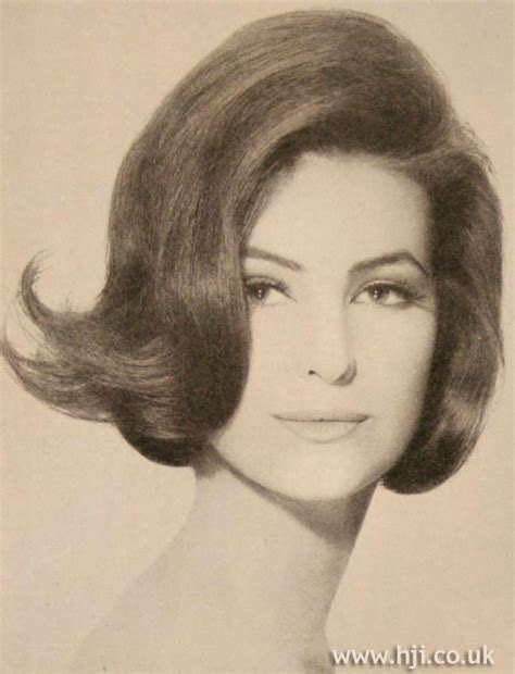 1960s hairstyles history in ireland 1963 bob flick hairstyle hji