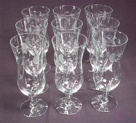 princess house glassware princess house heritage glassware parfait glasses princess house